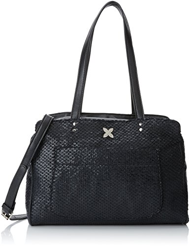 H 7012425 Para black Bolso Mujer X L w De Mano Negro Munich 16x23x33 Cm Uxw7qd7