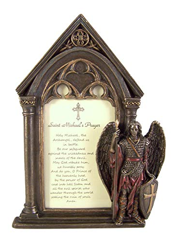 Saint Michael's Prayer Photo Frame, 7 1/2 Inch