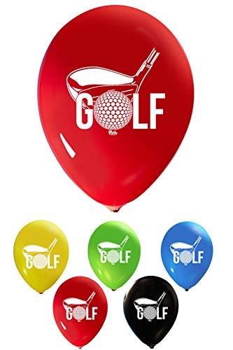 Golf Ball Balloons - Golf Balloons - 12 Inch Latex