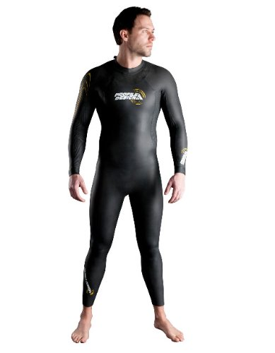 Profile Design MN Marlin Full Wetsuit (Black, - Wetsuit Design Profile