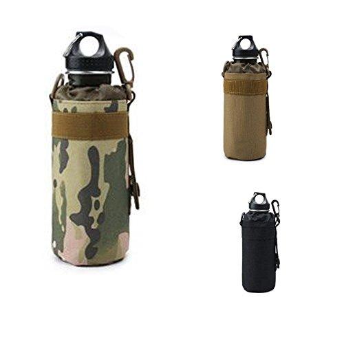 cloudwhisper 1Outdoor Military Tactical MOLLE System Tasche Wasser Flasche Wasser Flaschenhalter Wasserkocher Multifunktional Wasser Pouch Bag camouflage