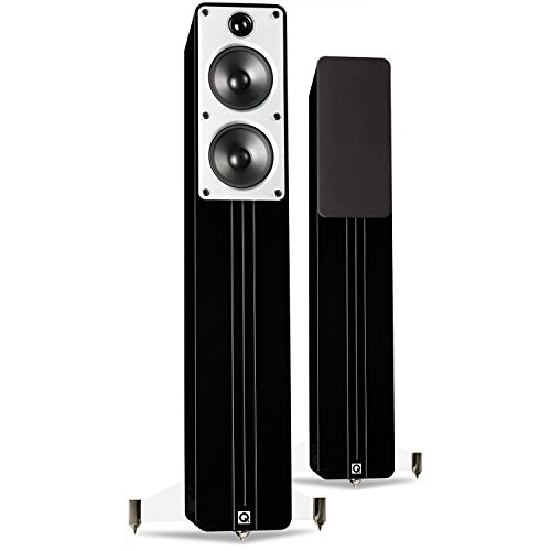 Q Acoustics Concept 40 Floorstanding Speakers (Pair) (Gloss Black)