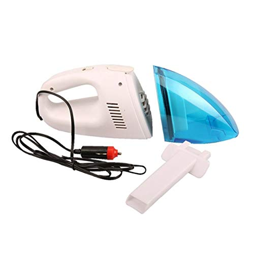 12V 65W Portable Handheld Versatile Wet & Dry Dual-use Vacuum Cleaner Inflator Powerful Suction For Car Succión potente...