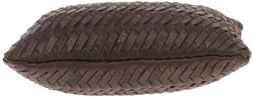 Loxwood Floppy Tressé Umhängetasche Marron (Dark Brown)