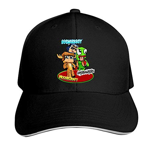 SsSEYYA Sandwich Cap Un-speakable Green Frog Durable Baseball Hats Adjustable Peaked Trucker Cap Black