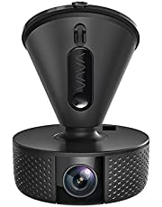 VAVA Dash Cam with Feature-Rich App, Instant Social Media Sharing, Night Vision with Sony IMX291 Sensor, 1080P@60fps, 360° Swivel View, G-Sensor, GPS & Snapshot Button Included