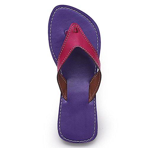 2dots - Sandalias de vestir para mujer Morado - morado