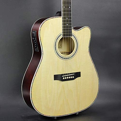 SUNXK Cuadro eléctrico 41 Pulgadas Guitarra balada con una ...