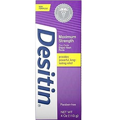 Desitin Diaper Rash Paste Maximum Strength