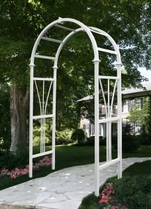 Garden Arch With Lights