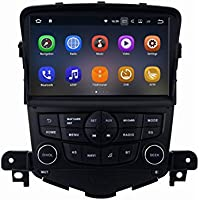 SYGAV Android 7.1.1 Nougat 2G RAM Car Stereo for 2009-2014 Chevrolet Cruze 8 Inch Touch Screen GPS Sat Navigation Audio FM AM Radio LCD Monitor Head Unit