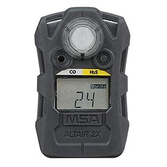 MSA 10154040 ALTAIR 2XT Two-Tox Gas Detector, CO/H2S (Carbon Monoxide/Hydrogen Sulfide), Gray: Amazon.com: Industrial & Scientific