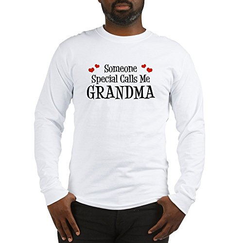CafePress - Someone Special Calls Me Grandma Long Sleeve T-Shi - Unisex Cotton Long Sleeve T-Shirt (Calls Special Someone)