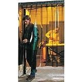 Steiner Industries 83423 Welding Strip Door, 96'' Strip Length PVC, 8' x 10', Amber