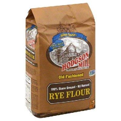 Hodgson Mill Rye Flour, 5 Pound (Pack of 6)