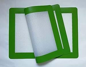 """Silicone Nonstick Baking Mat-Set of 2 Sheets(Quarter Sheet 11.5""""*8.5"""" 2pk)"""