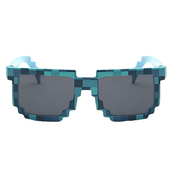 Novedad Gafas De Sol Mosaico con Forma Cuadrada De Moda ...