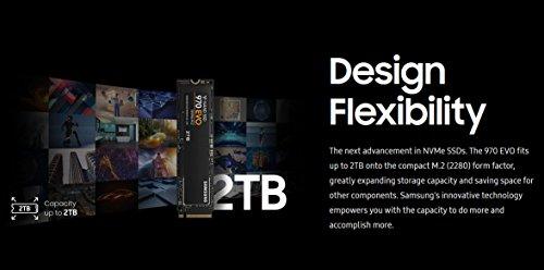 Samsung 970 Evo 2TB - NVMe PCIe M 2 2280 SSD (MZ-V7E2T0BW)