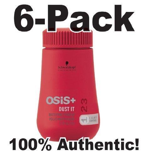 OSIS Dust It ~ Mattifying Powder by Schwarzkopf .35oz (6 pack)!