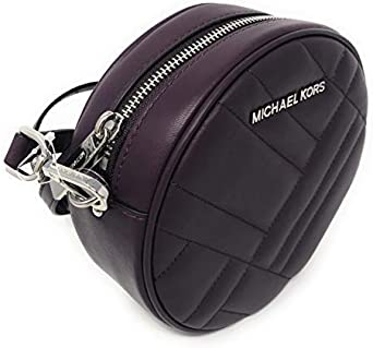 Michael Kors Vivianne Canteen Quilted Leather Crossbody Bag