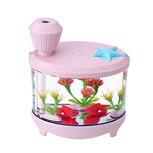 Aquarium LED Humidifier (pink) - 1