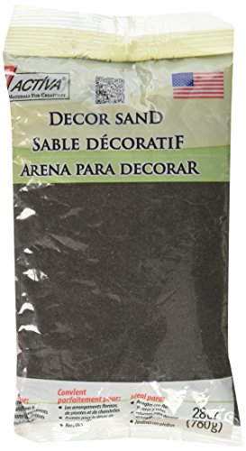 ACTIVA Decor Sand, 28oz - Black - Designers Choice Arrangement