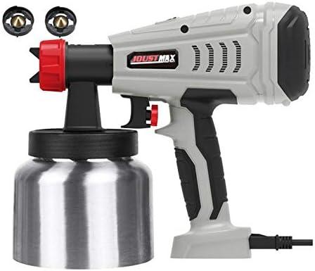 Appearanice Pistola pulverizadora Pulverizador de Pintura de Alta Potencia de 800 W Herramientas eléctricas Pulverización y Limpieza fáciles, Gris