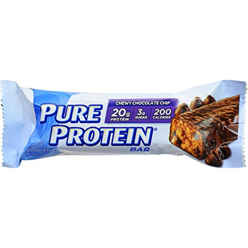 - Pure Protein High Protein Bars, Chewy Chocolate Chip, 1.76 Ounce, 6 Count