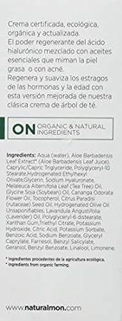 MON DECONATUR Crema de Árbol Del Té Y Ácido Hialurónico 50 ml