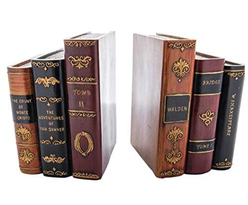 - Victorian Trading Co. Library Books Bookends