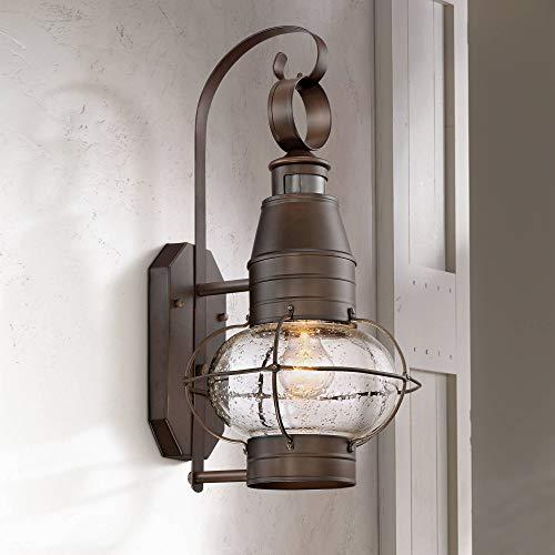 - Galt Nautical Outdoor Light Fixture Oil Rubbed Bronze Lantern 19 3/4