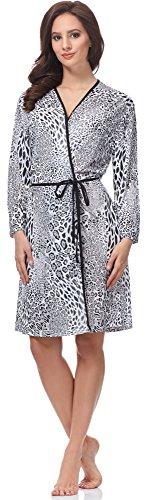 Italian Fashion IF Bata para mujer Elza Pantera