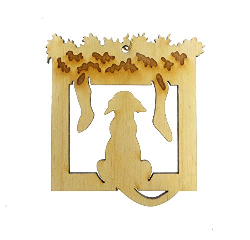 Dog at the Fireplace Ornament - Dog Christmas ()