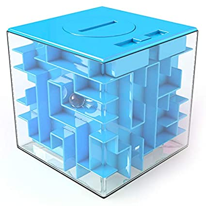 Safe for Children Money Maze Puzzle Box Unique Way to Give Gifts for Special People Perfect Gift Puzzle Box for Kids 100/% Satisfaction Guaranteed!