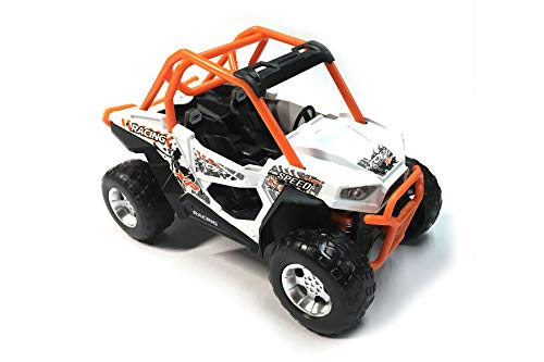 (HCK Off Road Quad Vehicle ATV 4x4 Pull Back Toy Cars w/ Suspensions 1:32 Scale)
