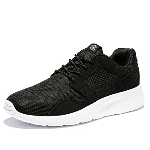 WOTTE Men's Lightweight Comfortable Running Breathable Shoes for Gym Outside (9.5 D(M) US, Black) Review