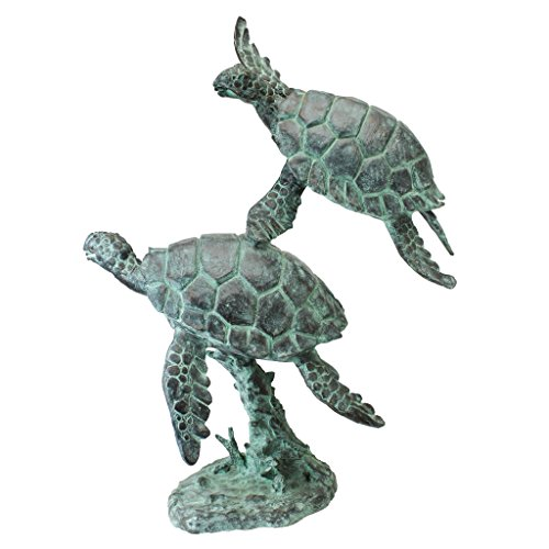 Design Toscano Turtles Bronze Garden Statue