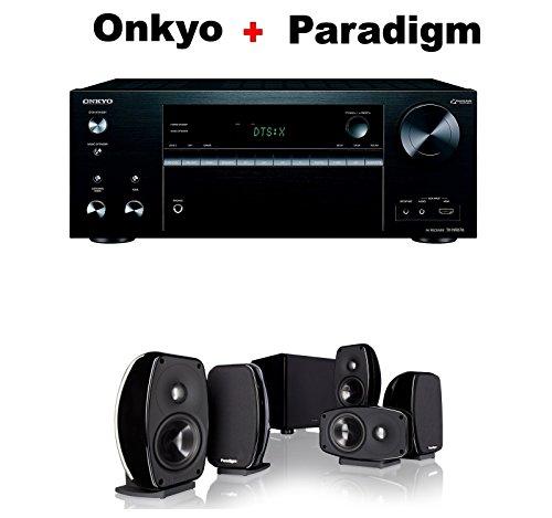 Onkyo-Powerful-Audio-Video-Component-Receiver-Black-TX-NR676-Paradigm-Cinema-100-CT-51-Home-Theater-System-Bundle