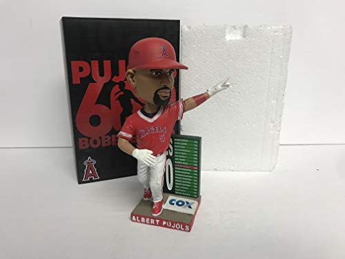 (Albert Pujols 600 CAREER HOME RUNS Los Angeles Anaheim Angels 2017 STADIUM PROMO Bobblehead SGA)