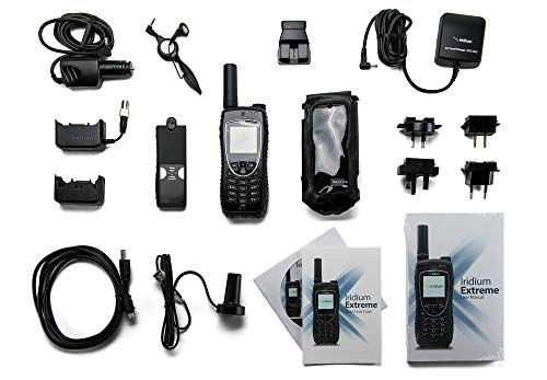 Iridium 9575 Extreme Satellite Phone with Prepaid and Postpaid SIM Cards