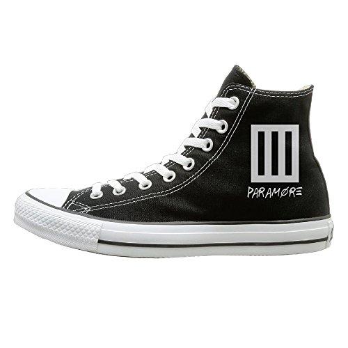 - WS Unisex Classic Paramo Bar Logo Slip-On Shoes Black Size42