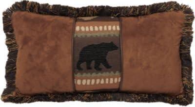 Carstens Bear & Chestnut pillow
