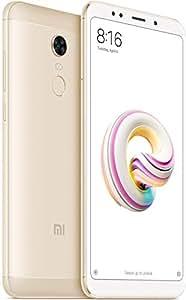 Xiaomi Redmi 5 Plus Dual SIM - 32GB, 3GB RAM, 4G LTE, Gold - International Version