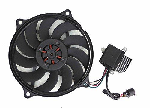 Depo 341-55008-000 Radiator/Air Conditioner Fan Assembly (VOLKSWAGEN NEW BETL 2.5L 06-10 ASSEMBLY)