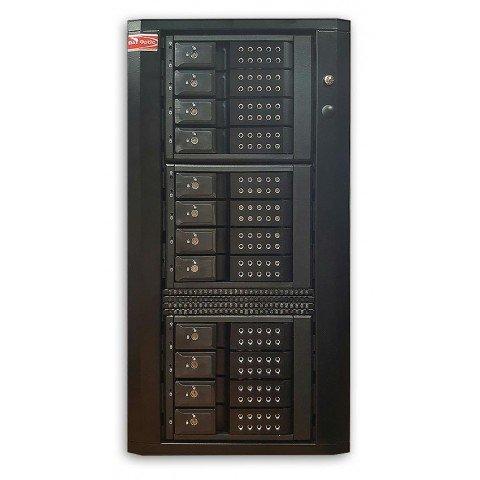 Thunderbolt 2 Twelve tray-less SATA (6Gb/s) Hardware RAID5/6 Quiet Tower for Mac & Windows - T12-S6.TB2 by DATOptic Inc
