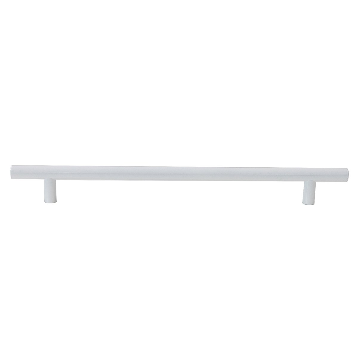 Probrico Modern Cabinet Hardware Dresser Cupboard Handle Pull White Kitchen Cabinet T Bar Knobs Stainless Steel- 12mm Diameter - 8-3/4 Hole Spacing - 5 Pack by Probrico (Image #2)