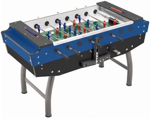 Mightymast Leisure Smile Table - Futbolín de fútbol, Color Bleu ...