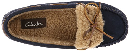 Clarks Womens Mocassin Slip-on Loafer Marine