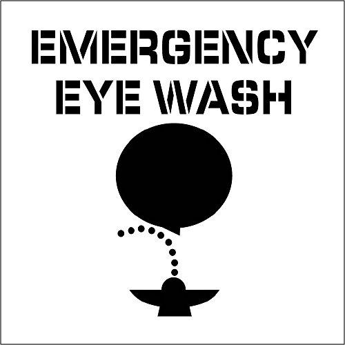 National Marker Corp. PMS227 Emergency Eye Wash Plant Mar...