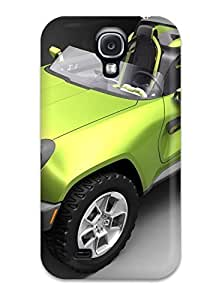 Durable Defender Case For Galaxy S4 Tpu Cover(vehicles Car)